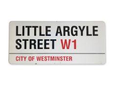 Little Argyle Street W1