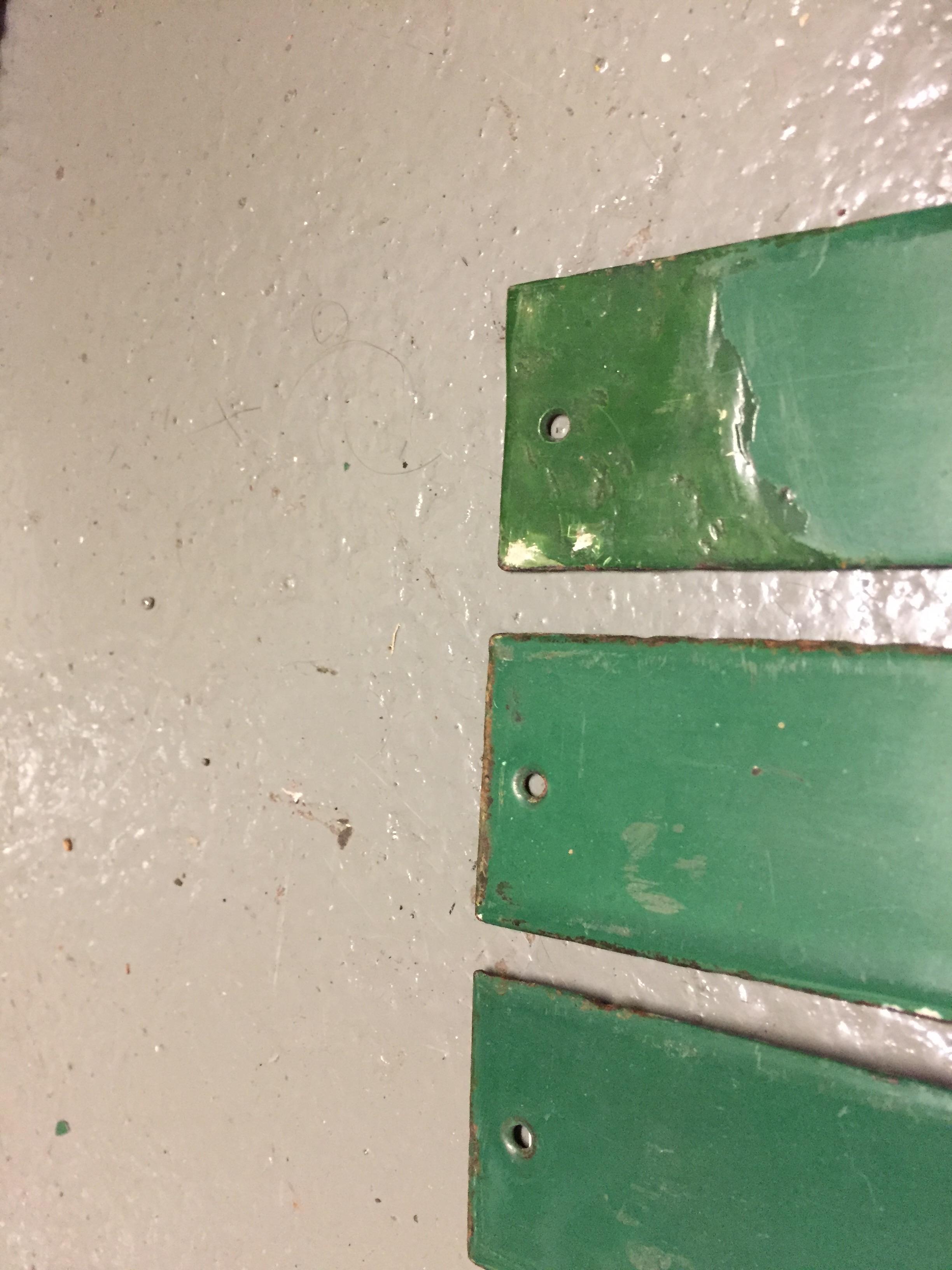 Four London Underground enamel destination plates for the District line, - Image 4 of 4