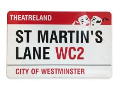St Martin's Lane WC2 Theatreland