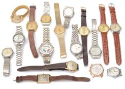 A collection of approx. 20 predominantly Gentleman's wristwatches