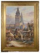 Edwin St. John (Brit., fl. 1880-1920) after John Sell Cotman (Brit., 1782-1842), watercolour