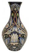 A Moorcroft Prestige 'Tribute to William Morris' pattern vase by Rachel Bishop,