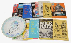 A collection of late 19th and 20th c. ephemera relating primarily to the history of Brit. Cycling