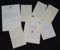 A collection of ephemera relating to Margaret Thatcher (1925-2013) and Denis Thatcher (1915-2003),