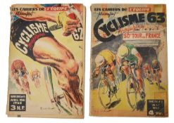 A collection of late 19th and early 20th c. cycling ephemera