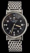 A Gentleman's IWC pilots automatic wristwatch
