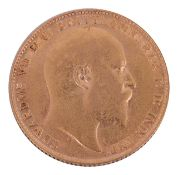 An Edward VII full sovereign