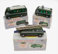 Three Dinky Supertoys BBC TV Vehicles
