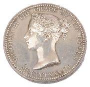 A National Art Training School, South Kensington silver Queens medal, 1878