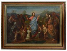 19th c., Continental School, after Johann Freidrich Overbeck, oil on canvas