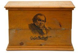 A late 19th century tincture bottle chest for Dr De Waltoff,