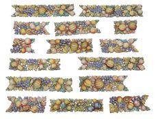 A set of fourteen 19th century continental enamel mounts