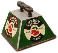 A Cherry Blossom Shoe Polish shoe shine box,