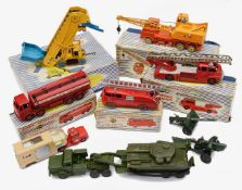 A small collection of mostly boxed Dinky Supertoys