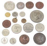 A collection of 19th century commemorative medals