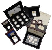 The Royal Mint limited edition silver proof set