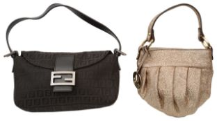 Two Fendi evening bags
