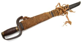 Pair of 19th century Chinese Hudiedao or butterfly swords,