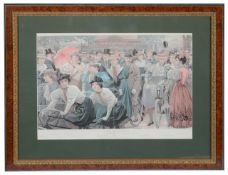 """Two Vanity Fair double page """"special issue"""" chromolithograph cycling supplements"""