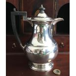 SILVER MAPPIN & WEBB WATER JUG, SHEFFIELD 1930, APPROXIMATELY 580g WEIGHT AND 21cm HIGH