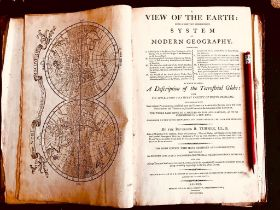 EARLY VOLUME BY REVEREND R TURNER- 'VIEW OF THE EARTH- SYSTEM OF MODERN GEOGRAPHY' AND DESCRIPTION