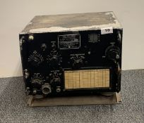 Collins Military Navy Radio Receiver Type COL-46159 of TCS-12 Serial number 2878.
