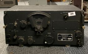A S.F.R.A radio receiver model BC348.