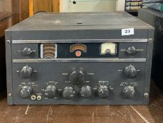 An RCA AR88 Communications Receiver.