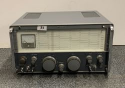 An Eddystone communications receiver model 840C.
