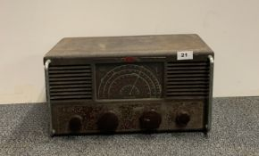 An Eddystone Marine broadcast receiver type 659/670.
