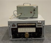 A Marconi Atalanta commercial receiver model 2207C, 11.5cm x 20cm x 19.5cm, together with a