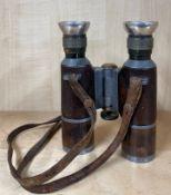 A pair of mid-20th Century German DRP binoculars, H. 13.5cm.