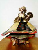 A rare Art Deco Wade figure of a female dancer, H. 23cm. (possible restoration)