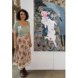 Christy Burdock is a graduate of the Royal College of Art. Awards - Space Artist '21, Arts Council