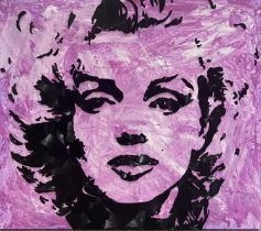 Craig Hutchinson : specialist in portraits made completely from broken vinyl records. Bringing a new