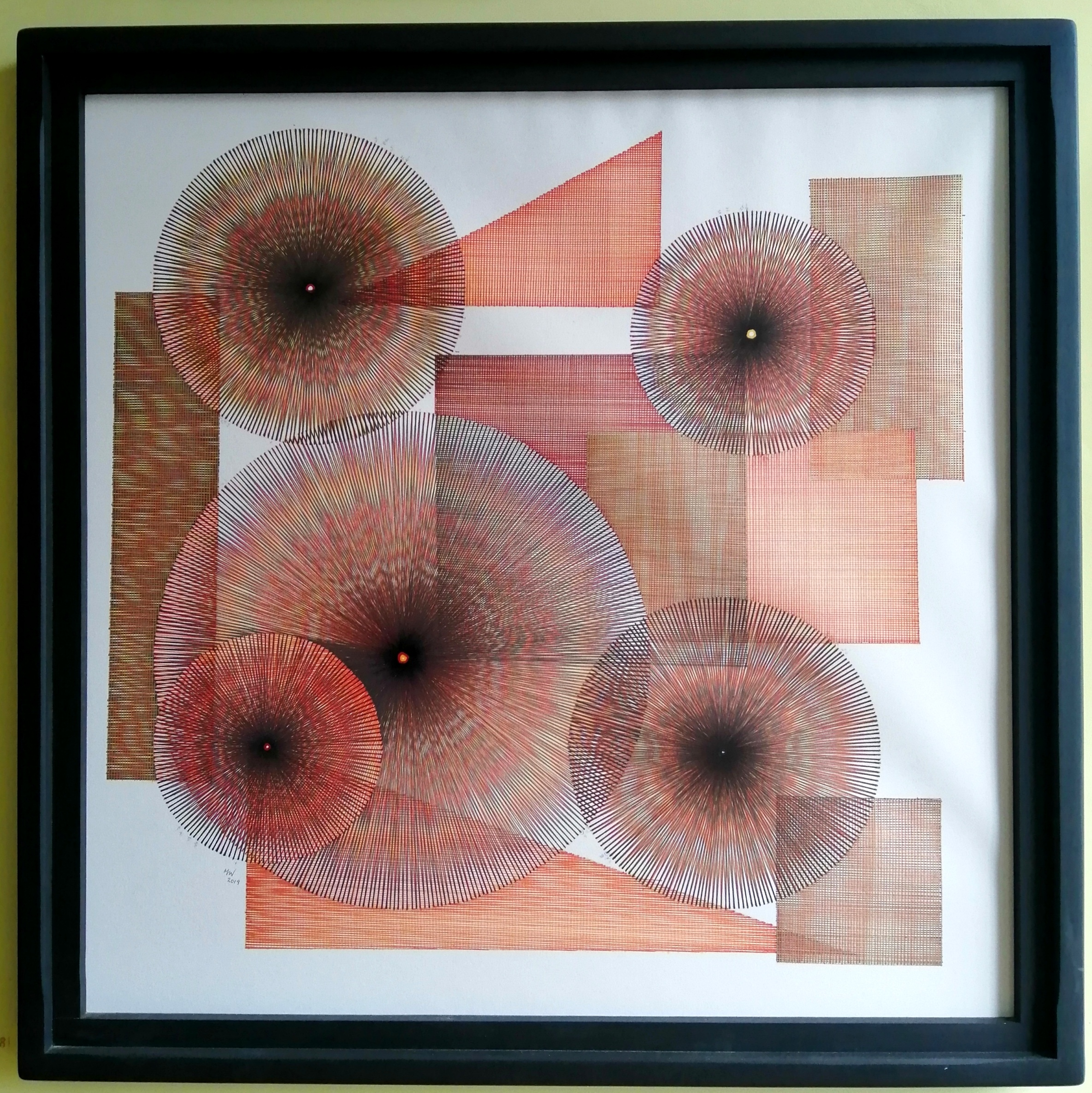 Maia Weerdmeester is an award-winning, Doncaster-based artist. She specializes in simple, repetitive