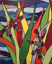 Kim Farr's passion for art has always been there but quietly hidden away until she relocated to