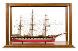 AN EXCEPTIONAL 1:64 SCALE STATIC DISPLAY MODEL OF THE CLIPPER LOCH ETIVE, BUILT AT GLASGOW, 1877