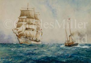 WILLIAM MINSHALL BIRCHALL (BRITISH, 1884-1941) 'An incoming voyager'
