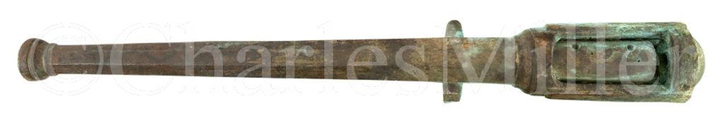 A BRONZE BREECH-LOADING GUN RECOVERED FROM A SPANISH ARMADA WRECK OFF THE WEST COAST OF IRELAND,