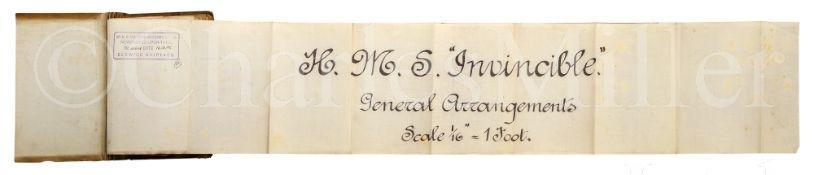 H.M.S. INVINCIBLE: GENERAL ARRANGEMENTS, 1906
