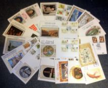 Benham original FDC collection includes 19 commemorative covers subjects include Edward Lear,
