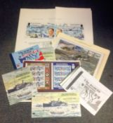 D. Day World War II collection 16 items includes Coin FDC, Covers, Commemorative stamps, booklets