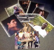 Twilight collection 9 signed 10x8 colour photos from the cast of the hit movie includes Kirsten
