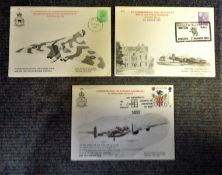 RAF FDC collection 3 commemorative covers subjects include The Fortieth Anniversary of Operation