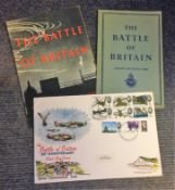 Battle Britain collection includes Special Commemorative Battle of Britain 25th Anniversary FDC