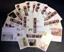 World War II FDC collection 15 interesting covers commemorating D Day 6th June 1944. We combine