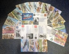 Great War FDC Collection includes 13 signed flown covers commemorating some historic events from