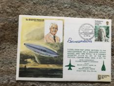 WW2 Sir Barnes Wallis Dambuster bomb signed on his own Historic Aviators cover.