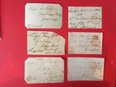Battle Of Waterloo Wellingtons Generals signed collection. Selection Off Ten Envelope Fronts
